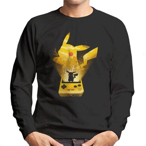 Pokemon Yellow Montage Men's Sweatshirt