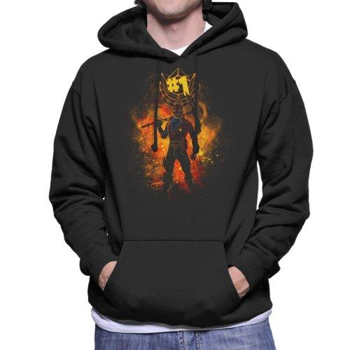 Rust Lord Spray Art Fortnite Men's Hooded Sweatshirt