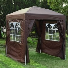 Outsunny 2m X 2m Garden Duty Pop Up Gazebo Wedding with Carrying Case