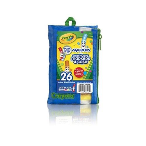 Crayola Crayola Pip Squeaks Marker Portfolio 26 Pack