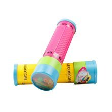 3Pcs Kids Science Exploration Toy Fun Kaleidoscope Prism, Random Style