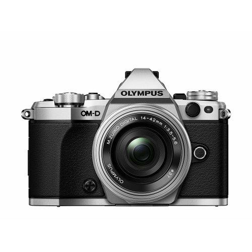 OLYMPUS E-M5 II Silver + 14-42mm F3.5-5.6 EZ ED Silver