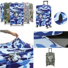 Creative Elastic Luggage Cover Dustproof Protector Suits for 18-20 Inch Luggage