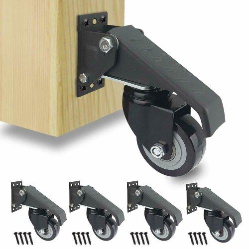 WorkBench Heavy Duty Swivel Castor Wheels Casters Rubber