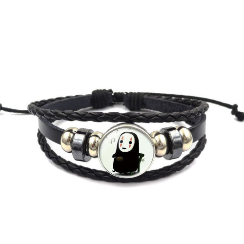 Qianhe Faceless Man Time Jewelry Multi-layer Bracelet