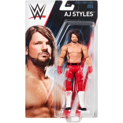 WWE Basic - Series 85 - AJ Styles Figure