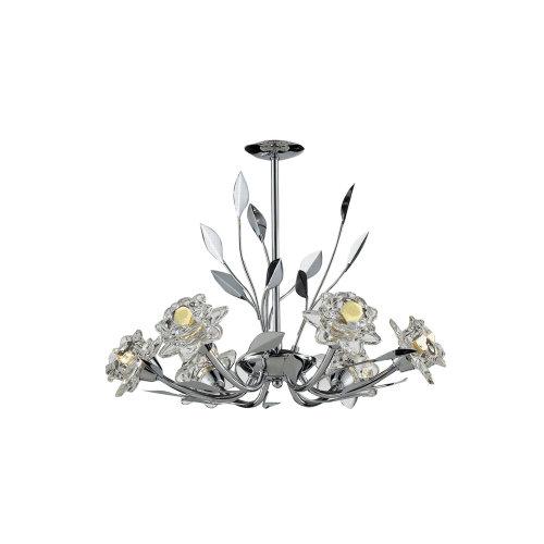 Covent Garden 6 Arm LED Ceiling Light