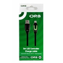 Orb 3M Led Controller Charge And Play Cable For Xbox One