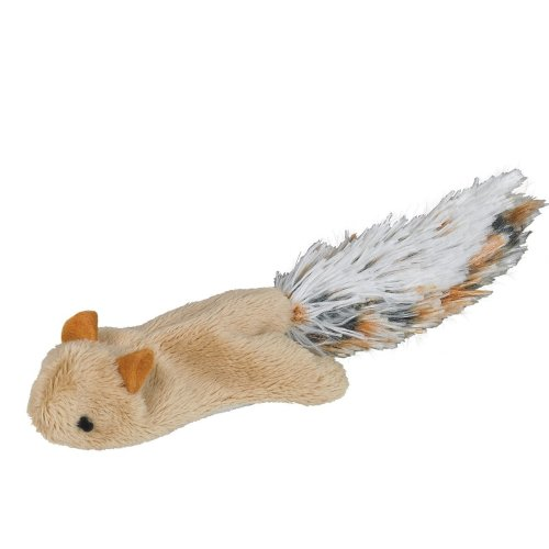 Nobby Plush Mouse With Catnip, 9 cm