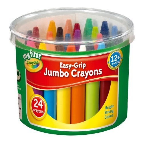 Crayola My First Crayola Easy-Grip Jumbo Crayons 24 by Grip Easy
