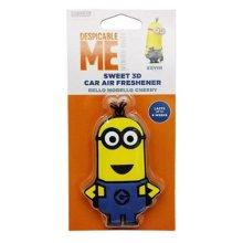 Despicable Me Minion Minions Car Air Freshner 3D Gel Kevin Bello Morello Cherry