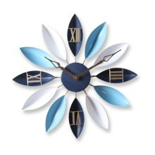 GoedYE 3D metal wall clock -Miditerrinian