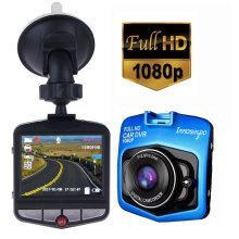 Dash Cam Full HD 1080P Car DVR Driving Recorder (Blue)