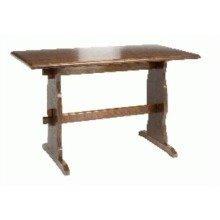 Yankee Wood Table Walnut Solid Hardwood 120 X 60