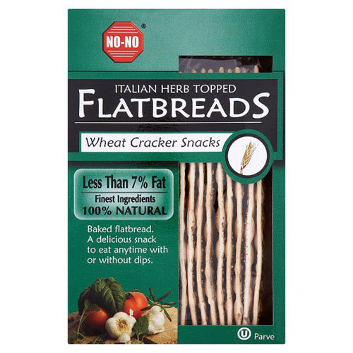 No-No Flatbreads  Flatbreads - Italian Herb 130g x 12