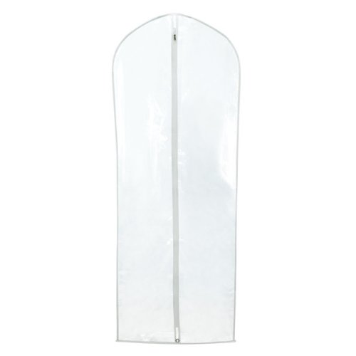"Hangerworld 6 Clear 60"" Zipped Dress Suit Clothes Cover Protector Bags"
