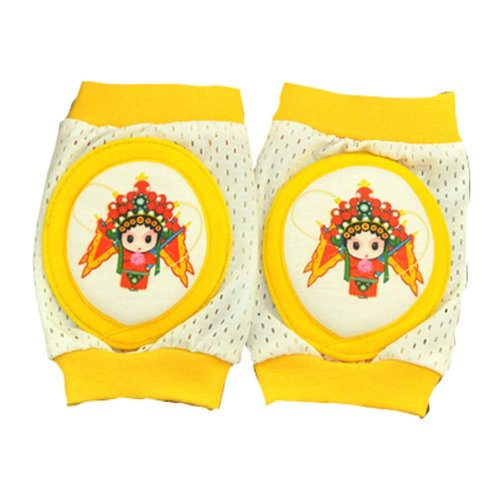Child Knee Pad Toddler Elbow Pads Traditional Chinese Peking Opera Character