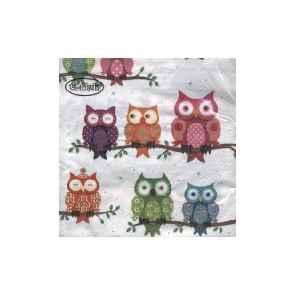 33cm x 33cm Ti-Flair Pack of 20 Napkins // Serviettes 3ply Noel Scene
