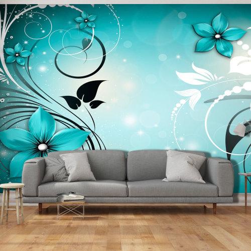 XXL wallpaper -  Sapphire Winter