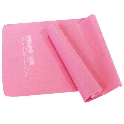 Natural Material Plastic Thin Yoga Belt Exercise Belt-Pink