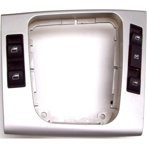 BMW 3 Series E46 Electric Window Switches + Silver Panel 03120010 03120220