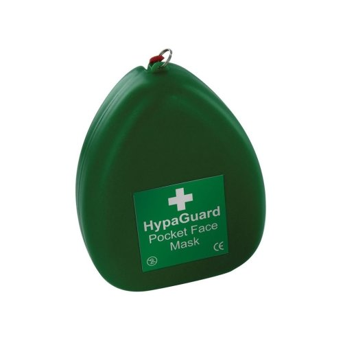 HypaGuard Pocket Resuscitation Face Mask