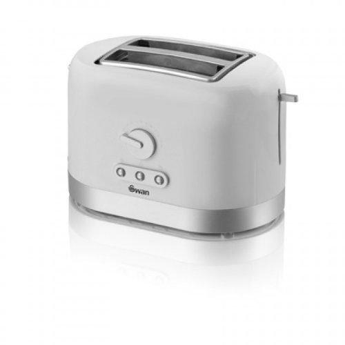 Swan White 2 Slice Toaster - Model No ST10020N