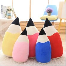 SOFO Creative Pencil Shape Pillow Cushions Festival Gift