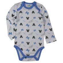 Mickey Mouse Bodysuit - Multi White