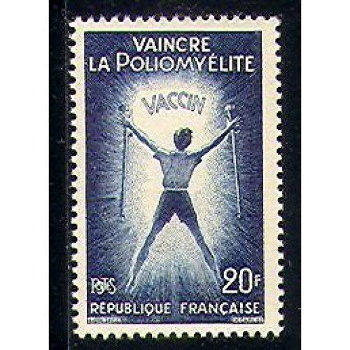 France 1959 Medical  /  Health  /  Welfare  /  Polio/ Medicine/ Disabled 1v (n29190)