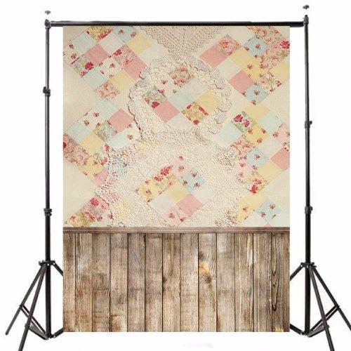 90x150cm Photography Vinyl Background Blanket Wall Plank Baby Theme