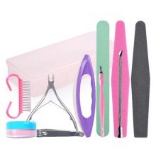 10 PCS Beauty Manicure/Pedicure Kits Nail Care Personal Set