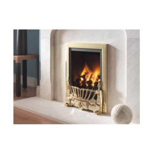 Designer Fire - Flavel FRDC14RN2 Brass Kenilworth Traditional Gas Fire - RC