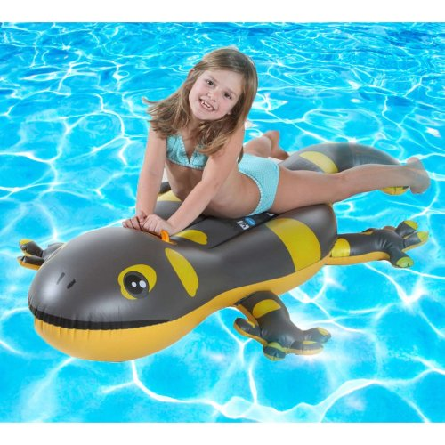 Inflatable Gecko Ride On Pool Float