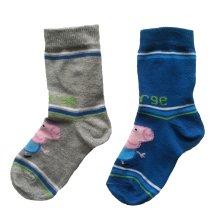 Peppa Pig George Socks - Pack of 2