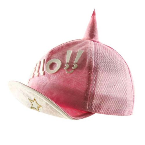 Pink Great Gift for Baby Fashion Sunhat Foldable Beach Hat Summer Hat Cotton Hat