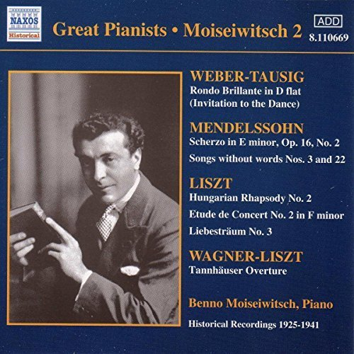 BENNO MOISEIWITSCH - VARIOUS: MOISEIWITSCH 2 [CD]