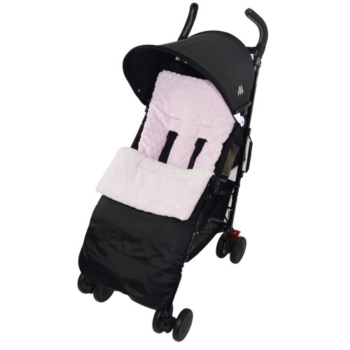 Marshmallow Super Soft Footmuff / Cosy Toes Compatible with Mamas And Papas Cosy Toes Pushchair - Pink