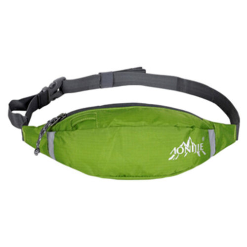 Walking Close-fitting Waist Pack Belt Bag Lightweight Covert Fanny Packs Green