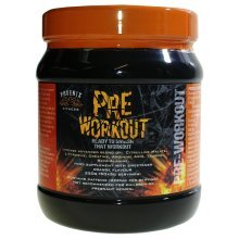 Phoenix Fitness Pre-workout Sports Supplement, Orange - Pump Servings -  phoenix orange pump servings fitness preworkout 250g muscle energy strong