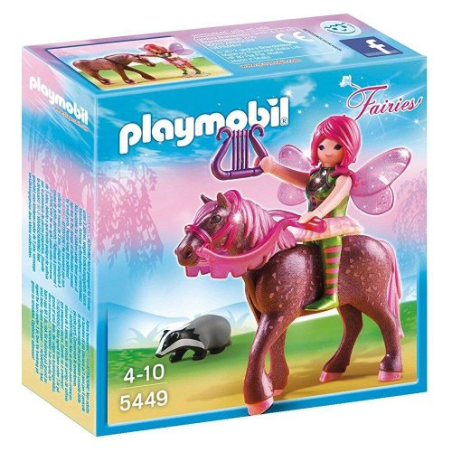 PLAYMOBIL Forest Fairy Surya with Horse Playset