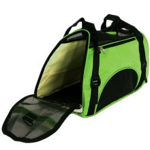 Foldable Soft Pet Carrier Tote Bag for Dogs and Cats (46*24.5*33cm, GREEN)