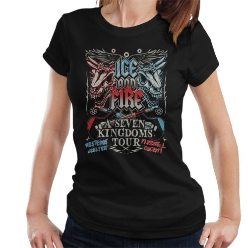Game Of Thrones Fest Seven Kingdoms Tour Women's T-Shirt