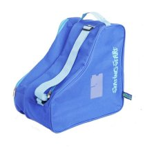 BLUE Children Ice Skate Backpack Skate Roller Carry Bag Skate Derdy Tote
