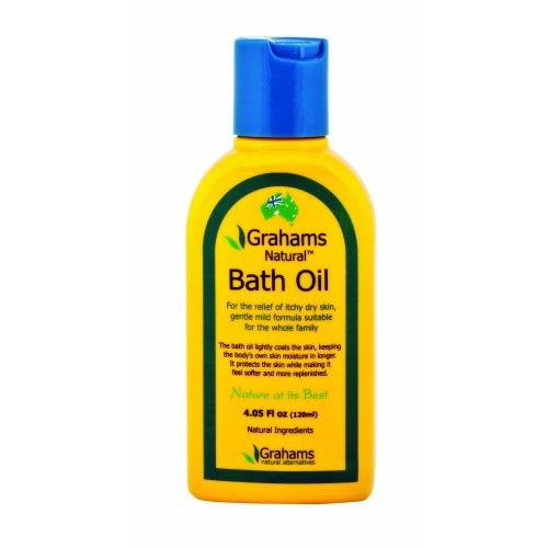 Grahams Natural 120ml Bath Oil