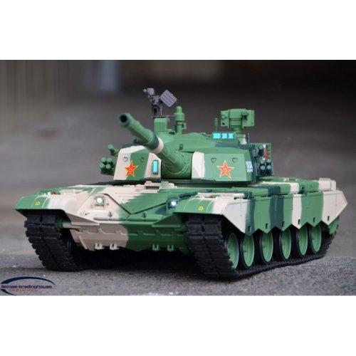 Heng Long China Army T99 1/16 Toy Tank 2.4Ghz SOUND SMOKE BB 3899-1