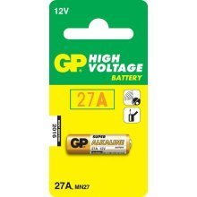 GP Batteries High Voltage 27A Alkaline 12V non-rechargeable battery