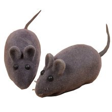 Set of 2 Simulation of Mice --Pet Toy/Sounding Cat Toy,Gray
