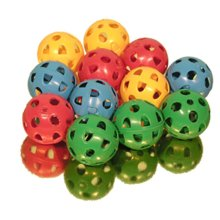 12pc Gamester Perforated Plastic Playballs | Kids' Mini Plastic Ball Set