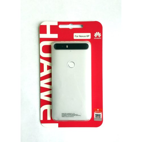 Genuine Huawei Translucent Clear Hard Case Cover for Huawei Google Nexus 6P 2015